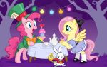 Fluttershy in Wonderland by DrChrissy