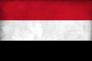 Grunge Flag of Yemen by pnkrckr