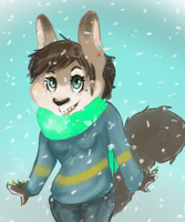 Snow (gif animation) by the-Assyrian