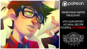 Now on Patreon! by Krooked-Glasses