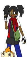 Me as a Pokemon trainer by HTFNeoHeidi