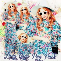 Pack png 202 Lady Gaga by MichelyResources