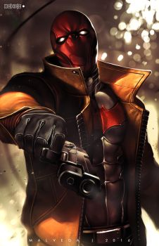 Red Hood by alex-malveda