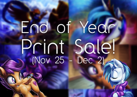 End of Year Print Sale! (Extended) by Tsitra360