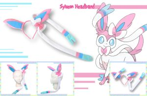 Sylveon-Style Headband by AnimeNomNoms
