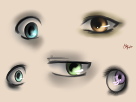 Just some eyes. by TheGweny