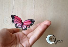 butterfly  pink by AngeniaC