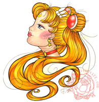 Sailor Moon-Tattoo Gypsy Style by tifftoxic