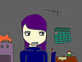 And, some more I hate Mondays art for you guys! by waterwaytm