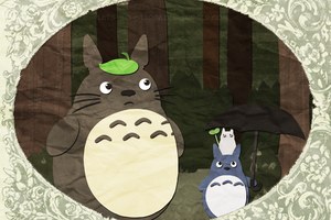 Tonari no Totoro by XxPonyPuffPrincessXx