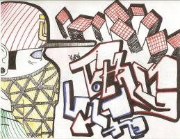Thug Life Graff by EyVo