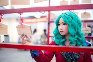 I'll always, always remember - Michiru by MonicaWos