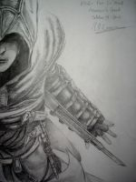 Assassin's Creed: Altair Ibn La'Ahad by crazybookworm96