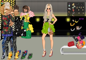 Electric Dance Party - Dress up Game by willbeyou