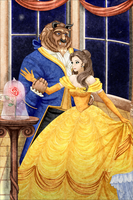 The Beauty and the Beast by MissDidichan