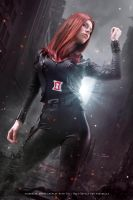 Black Widow - The Avengers - Marvel Comics by WhiteLemon