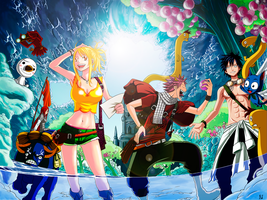 Fairy Tail Team by kisi86