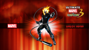 Ultimate MvC3 Ghost Rider by CrossDominatriX5