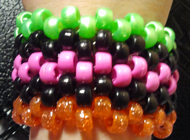 Kandi Cuff Sale/Tradeables Pt.3 by anne-t-cats