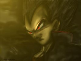 Vegetto: DBZ Diabolic Vegeta 2.5D by vegetto-vegito