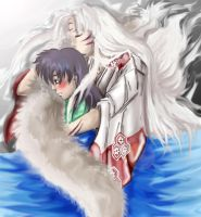 Unspoiled sesshomaru and kagome by kitsunefire7