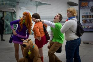 Scooby Doo - What's that over there?! by ShojoSensei