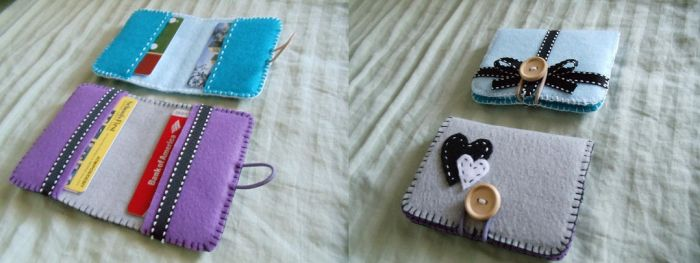 Handmade Wallets by craftykpoppers