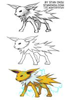 Jolteon by ryuzo