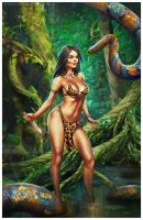 Jungle Goddess by Valzonline
