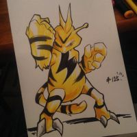 pkmn of the day- bzzz by ExShen