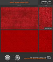 Red Carpet Pattern 1.0 by Sed-rah-Stock