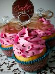 Sprinkles in Pink frosting by CreativeAbubot