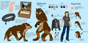 Kathrine Ardens Official Reference Sheet by Vantani