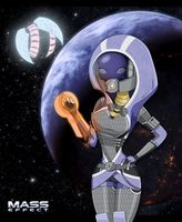 Tali_Colored by chalice29