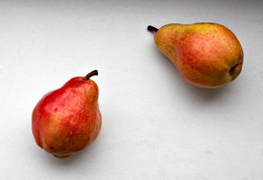 simple forms - peaches by Ziw