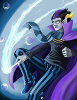 Eridan Ampora- Homestuck by LittleMeesh