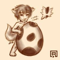 Humping the Egg by Rorek