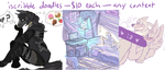 iscribble doodle commissions by TheRoguez