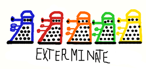 Exterminate the Rainbow by GallifreyanGeek