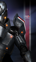 Mass Effect 3 N7 Destroyer PROMO by RedLineR91