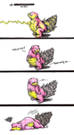Slowbro Faints by Chewy-Meowth