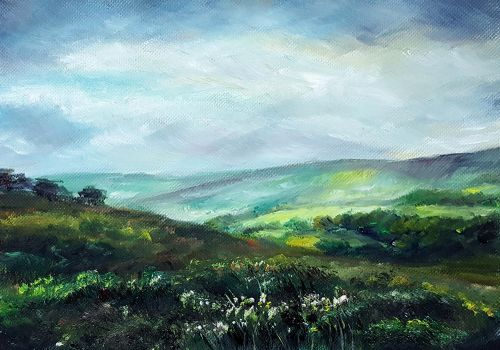Exmoor Fields UK by emilyjhorner