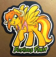 Furious Flair badge by onnanoko