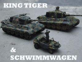 Second Schwimmwagen Operational by DingoPatagonico