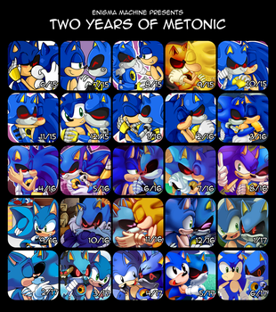 Two Years of Metonic by TheEnigmaMachine