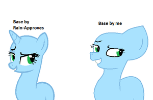 Base Comparison- Traced vs My Style- Orly? by TheRealRiiver