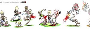 IN CASE OF ZOMBIE ATTACK... by crowbrandon