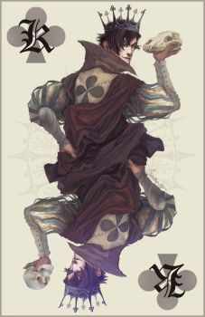 King of Clubs -colour- by Quberon