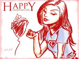 Vday doodle for her. by tamtu
