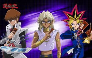 wallpaper yugioh by luaradawn